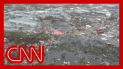 See first aerial footage of devastation in the Bahamas 2