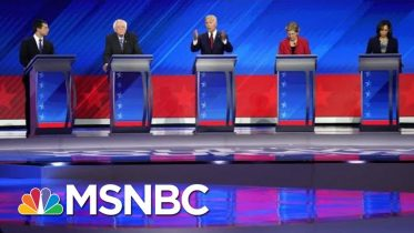 Democrats Hit Trump On Trade, Immigration, Race & More At Third 2020 debate | The 11th Hour | MSNBC 6
