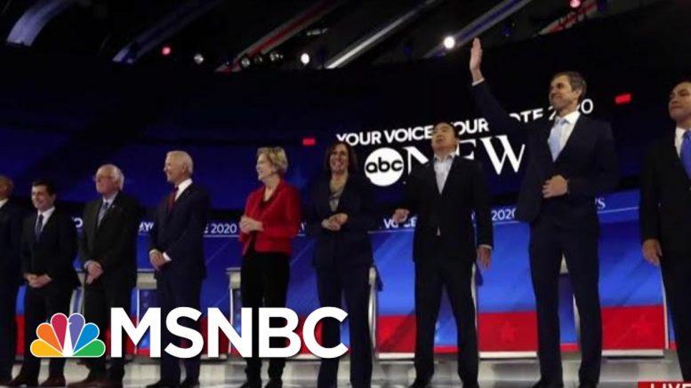 Joe Biden Helped At Debate By Extremes Of His Opponents | Morning Joe | MSNBC 1