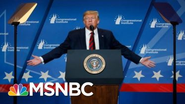 Trump's Wild Speech In Baltimore: Insults, Non Sequiturs, And More   The 11th Hour   MSNBC 10