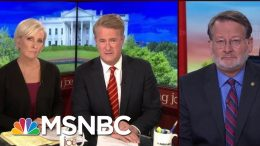 Sen. Peters: Trump Did Not Do Anything To Save Michigan Car Manufacturing Jobs | Morning Joe | MSNBC 5