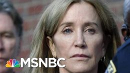 Public Backlash Over Felicity Huffman's 14-day Sentence | Velshi & Ruhle | MSNBC 5