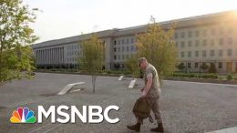 Why Climate Change Is A National Security Issue | Velshi & Ruhle | MSNBC 6