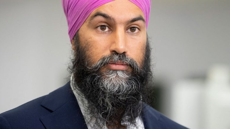 Singh asked about the costs of NDP platform promises 1