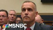 Combative Corey Lewandowski Begrudgingly Affirms Mueller Report's Truth   Rachel Maddow   MSNBC 3