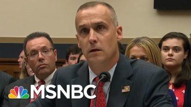 Corey Lewandowski Stonewalls Democrats - The Day That Was | MSNBC 6