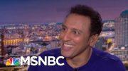 The Daily Show's Aasif Mandvi On Trump, Jon Stewart & John Oliver   The Beat With Ari Melber   MSNBC 4