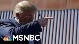 Trump Says New Border Wall Has Technologically Advanced Concrete | The 11th Hour | MSNBC 1