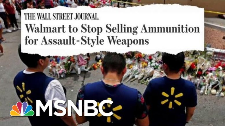Walmart Workers Advocated For Change, No Longer 'Complicit'   The Beat With Ari Melber   MSNBC 1