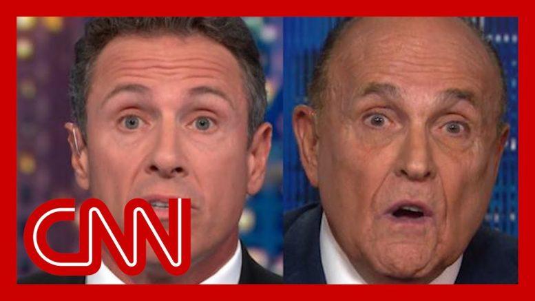 Chris Cuomo clashes with Rudy Giuliani over Ukraine 1