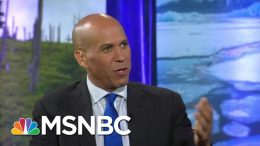 Booker: Combination Of Outside Forces, Government Must Work Together To Solve Climate Crisis | MSNBC 6
