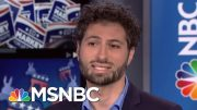 Nat'l Grassroots Org. Teams Up With Actors To Encourage Voter Turnout | Velshi & Ruhle | MSNBC 3