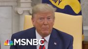 Trump Ends Chaotic Week Blasting Anonymous Whistleblower As Partisan   The 11th Hour   MSNBC 3