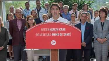 Trudeau brings up Ford cuts when campaigning on health care 7