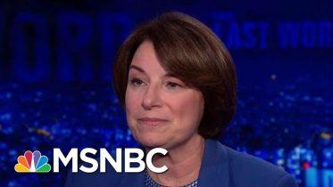 "Sen. Amy Klobuchar: ""It's Not American"" To Block Election Security Measures | The Last Word | MSNBC 6"