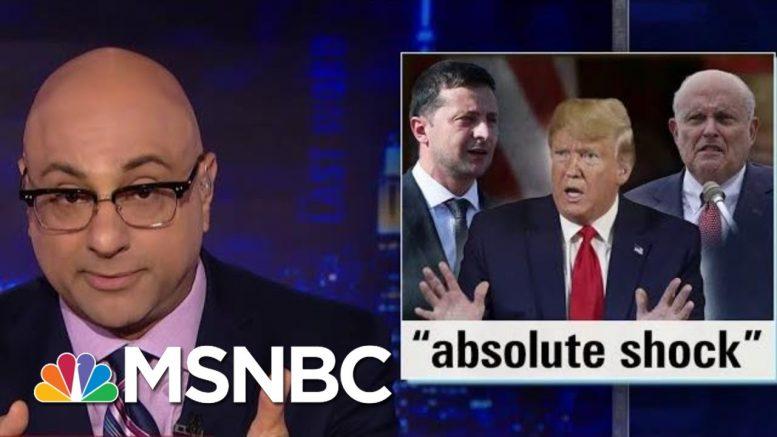 Impeachment Pressure Escalates As Dems Demand Of Whistleblower Complaint | The Last Word | MSNBC 1