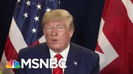 Trump Withholds Aid From Ukraine, Claims He Did Not Ask For Quid Pro Quo | Andrea Mitchell | MSNBC 8