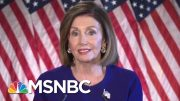 Trump Ukraine Solicitation Forces Nancy Pelosi's Hand On Impeachment | Rachel Maddow | MSNBC 4