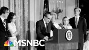 The Historical Context Of Impeachment   Velshi & Ruhle   MSNBC 3