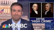Why Trump's Ukraine Call Meets The Founders' Impeachment Standard | The Beat With Ari Melber | MSNBC 5