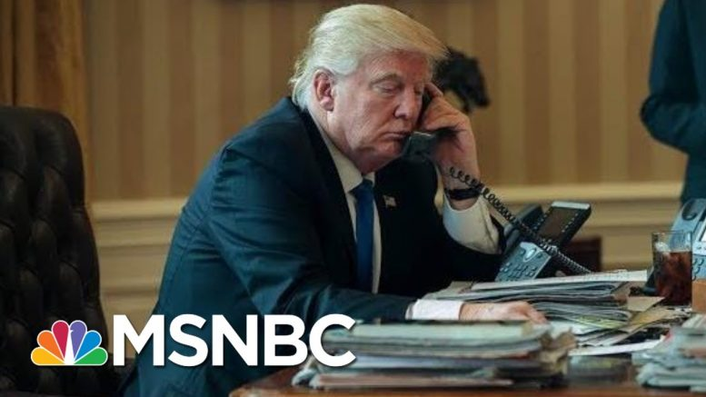 Impeachment Calls Grow As Trump Caught Demanding Biden Probe - The Day That Was | MSNBC 1