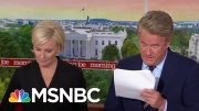 Whistleblower: White House Officials Intervened To 'Lock Down' Records Of Call | Morning Joe | MSNBC 2