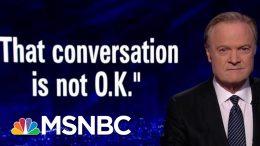 "House Republican: President Donald Trump's Ukraine Call ""Not O.K."" | The Last Word | MSNBC 7"