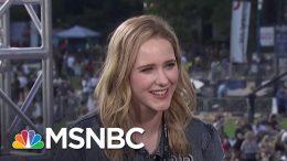 Rachel Brosnahan: Venezuelan Crisis Isn't About Politics, It's About Families | MSNBC 1
