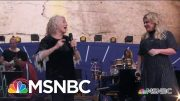 Carole King And Kelly Clarkson Sing 'Where You Lead'   MSNBC 2
