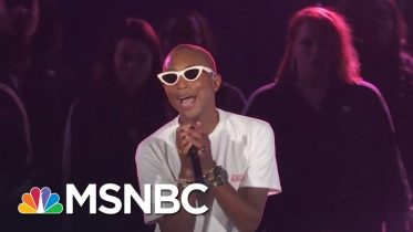 Pharrell Performs 'Letter To My Godfather'   MSNBC 6