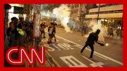 Hong Kong protesters clash with police for the 17th straight week 2