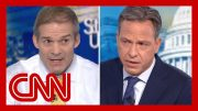 Jake Tapper fact-checks Rep. Jim Jordan on Ukraine scandal 4