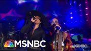 Alicia Keys And H.E.R. Perform Aerosmith's 'Dream On'   MSNBC 4