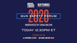 Watch Live: Gun Safety Forum 2020 In Las Vegas | MSNBC 8