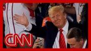 Washington crowd boos President Trump at World Series 3