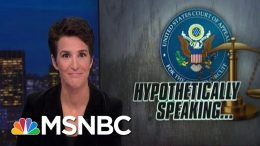 Trump Lawyers Keep Musing About A Mike Pence Indictment | Rachel Maddow | MSNBC 6