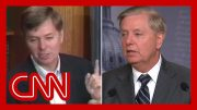 Lindsey Graham called out on impeachment contradictions 2