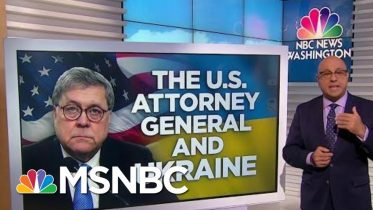 New push for Barr to Recuse Himself From Impeachment Inquiry | Velshi & Ruhle | MSNBC 6