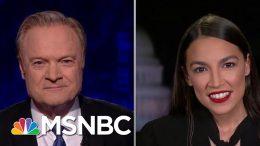 "Rep. Ocasio-Cortez: Facebook Disinformation Is ""Extraordinarily Concerning""   The Last Word   MSNBC 9"