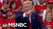 Unpaid Bills Pile Up In The Wake Of President Donald Trump Rallies | All In | MSNBC 5
