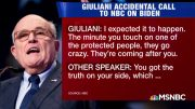 Rudy Giuliani's Butt Dial Heard Around the World - The Day That Was | MSNBC 2