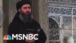 Who Is Abu Bakr Al-Baghdadi? | Velshi & Ruhle | MSNBC 5