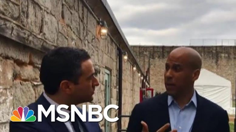 Historic: 2020 Dems Talk Justice Reform Inside Prison Facility | The Beat With Ari Melber | MSNBC 1