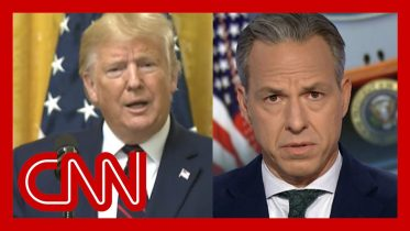 Jake Tapper: Trump refused to answer this question 2