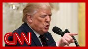 Trump erupts at reporter over key question in impeachment inquiry 2