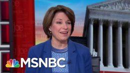 Amy Klobuchar: Facebook Should Have A Truth Standard For Political Advertising   Morning Joe   MSNBC 3