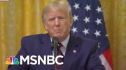 A Swearing And Ranting Trump Refuses To Answer The Key Ukraine Question   The 11th Hour   MSNBC 2