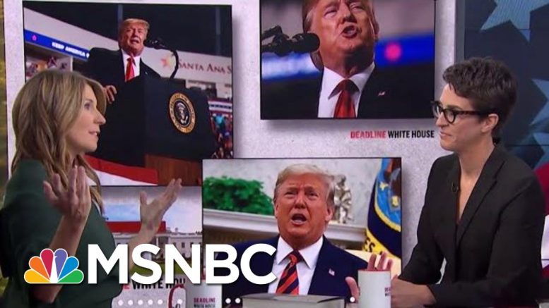 Subpoenas, Requests For Foreign Interference, And New Incriminating information | Deadline | MSNBC 1