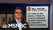 Chris Hayes On How The Text Messages Destroy Trump's Alibi  | All In | MSNBC 2