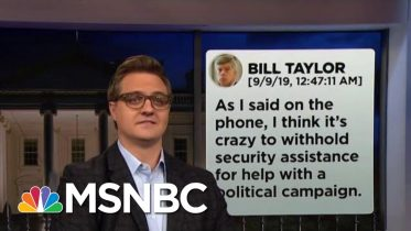 Chris Hayes On How The Text Messages Destroy Trump's Alibi  | All In | MSNBC 10